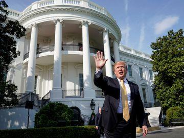 特朗普稱快將在白宮接待習近平。