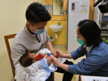 打針-兒童打針時間表-衞生署-疫情-疫苗接種-香港財經時報HKBT