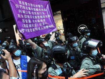 港版國安法, 人權, 警察