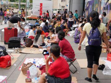 外傭, 菲傭, 印傭, 菲律賓, 印尼, 陳肇始, 香港疫情