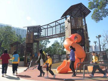 康文署, 兒童遊樂場公園