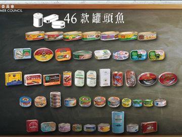 消費者 選擇月刊 罐頭魚 金屬污染物 砷(砒霜)水銀 鎘 鉛。