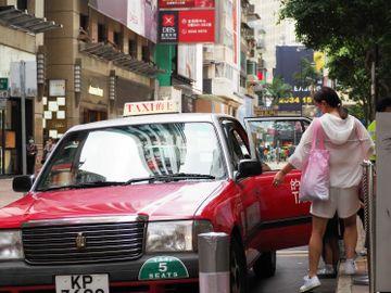 新冠肺炎 病毒檢測 的士司機 預約檢測服務。