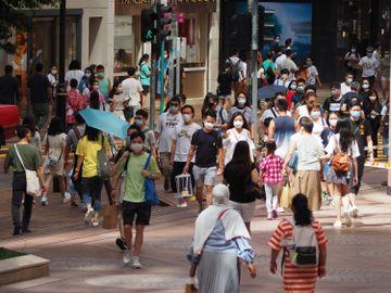 新冠肺炎, 香港疫情