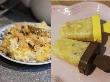 氹小朋友食飯新招, 網民自製, 菠蘿炒飯雪條, 營養師點講, 營養價值