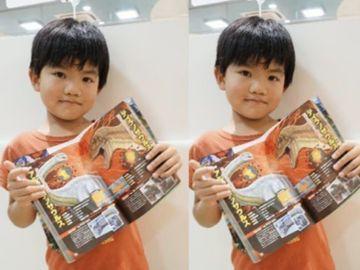 家長不要輕易否定孩子, 日本6歲男童, 恐龍最強王圖鑑, 出錯, 出版社修訂