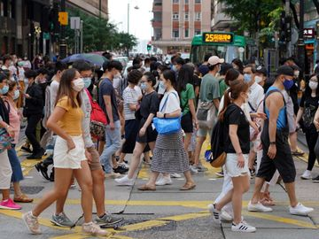 香港疫情, 懷孕39周孕婦, 全民檢測, 香港財經時報HKBT