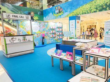 海港城-期間限定店-親子好去處2020-免費填色體驗區-香港財經時報HKBT
