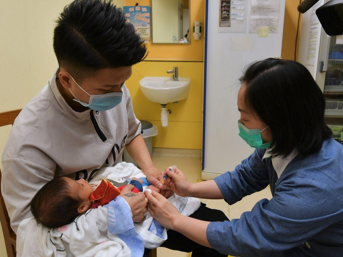 健康院打針-一歲針-發燒-湯水-打針反應-衞生署-新手媽媽-香港財經時報HKBT