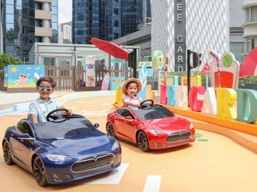 周末好去處-親子好去處-利園二期#電動車-香港財經時報HKBT