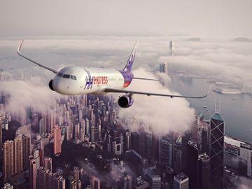 東瀛遊-HK Express-Flycation-飛機上睇日落-票價-香港財經時報HKBT