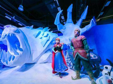 親子好去處-Frozen夢幻特展-將軍澳中心-魔雪奇緣-香港財經時報HKBT