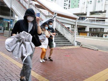浪卡-8號風球-八號烈風或暴風信號-陳栢緯-天文台-香港財經時報HKBT