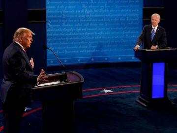 美國大選辯論-特朗普-拜登-中國-黑人-香港財經時報HKBT