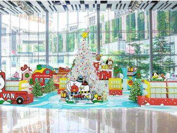 聖誕2020-親子好去處-荃新天地-限定-BT21滾軸溜冰場-香港財經時報HKBT