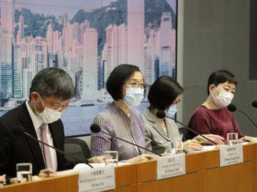 香港疫情-限桌令-限聚令-強制檢測-檢測待行-上呼吸道感染-陳肇始-食物及衞生局-香港財經時報