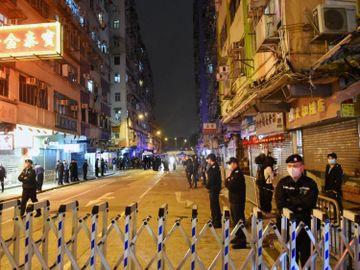 政府封鎖大廈-居民檢疫-中央出手-解決香港土地供應問題-香港財經時報HKBT