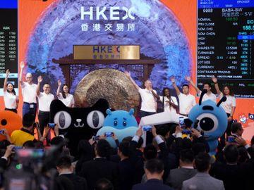 牛年開市港股炒落後-阿里巴巴值摶率最高-阿里巴巴股價-香港財經時報HKBT