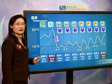 公務員職缺-香港天文台-科學主任-氣象服務-督導-訓練員工-公務員合約