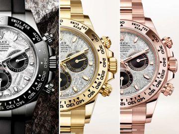 Rolex2021-勞力士-Daytona-隕石錶面-勞力士價錢-網民最愛