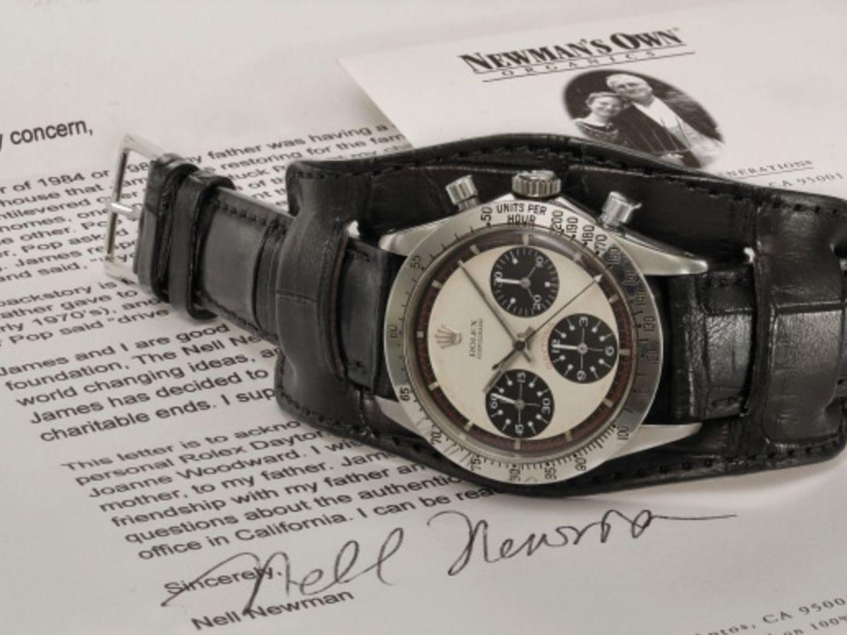 5隻史上最貴勞力士-Phillips拍賣會-Rolex6239-Daytona-PaulNewman-Rolex-勞力士