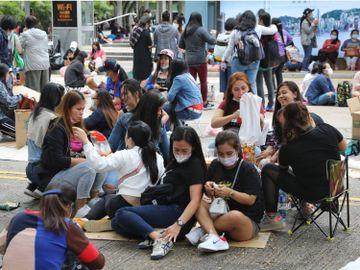 外傭人工-政府禁飛-工人姐姐-月薪-外藉家庭傭工-法定最低工資-香港財經時報HKBT