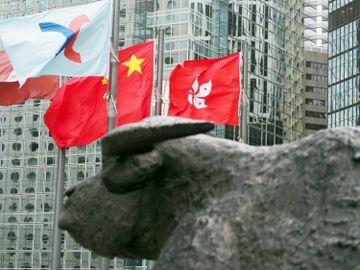 港股收市-恒生指數-50天線-10天線-汽車股-攜程-復星旅遊文化-藝龍-香港財經時報HKBT