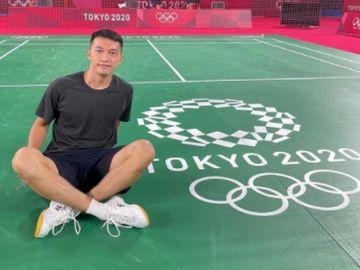 東京奧運-香港羽毛球代表伍家朗-黑色球衣引起熱議-加拿大品牌Lululemon-瑜伽運動褲