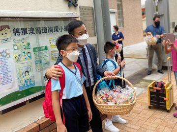 高年級, 小學長, 小一新生適應, 將循, 林德育校長, 將軍澳循道衛理小學, 香港財經時報HKBT