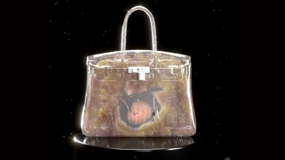 加密藝術,Hermes,NFT虛擬Hermes手袋,BirkinBag,MrDoodle,村上隆