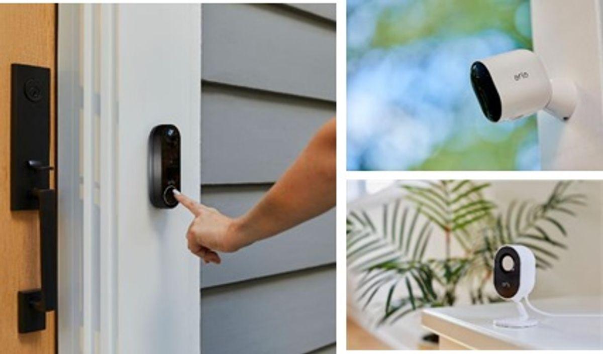 活用電子消費券 盡情享有更周全的智能家居保障 Arlo無線攝影機和無線視訊門鈴助你輕鬆升級家居保安