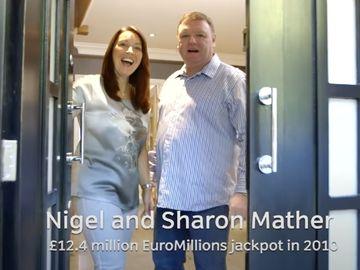 英國夫婦中頭獎,億元獎金,行善積德,捐贈,彩票,腳踏實地做人,六合彩頭獎