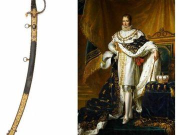 紀念拿破侖逝世200周年 - 罕見拿破侖寳劍將於10月27日現身拍賣會 香港收藏家機不可失!