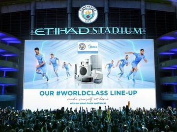 美的與曼徹斯特城足球俱樂部深化全球合作
